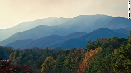 In Asheville, mountains surround the cultural hub of North Carolina.
