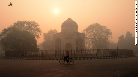 New Delhi is the most polluted city on Earth right now