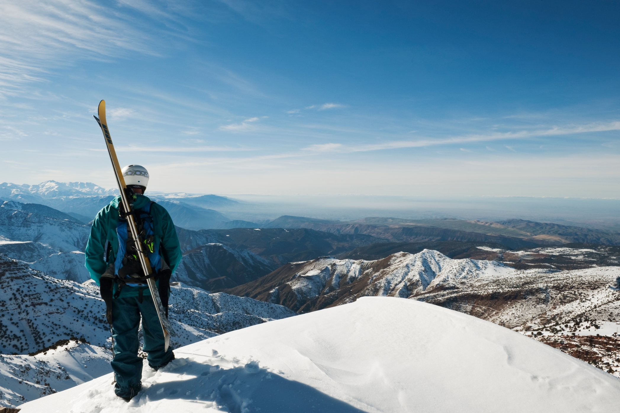 skiing in morocco: north africa's atlas mountains | cnn travel