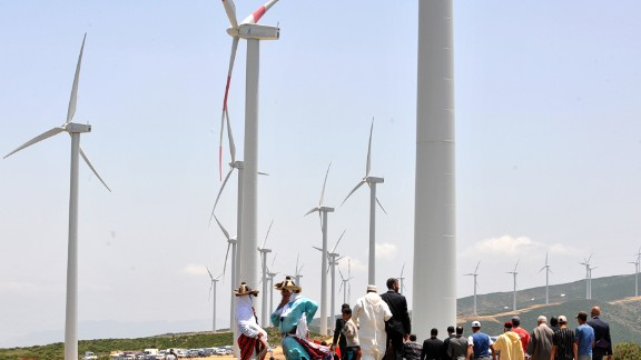 """""""Making electricity is only a part of a larger strategy,"""" says Said Mouline, director of the National Agency for the Development of Renewable Energy and Energy Efficiency. With the country made up of 78 percent desert or dry zones, according to one estimate, water conservation is key."""