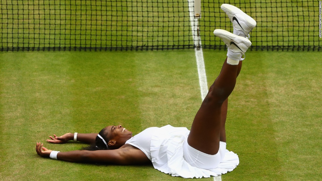 "Both Evert and Navratilova think Wimbledon represents Serena's best chance to hit 23 majors. She has already won seven times at SW19, -- the same as Graf -- and Navratilova told CNN's Open Court show: ""If Serena stays healthy it's almost impossible for someone to beat her on the grass."""