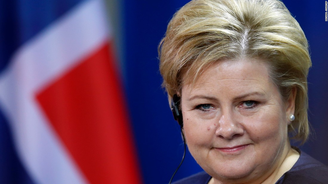 Erna Solberg became Norway's prime minister in 2013.