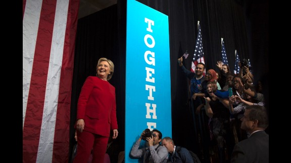 Clinton held a rally in Philadelphia the night before Election Day.
