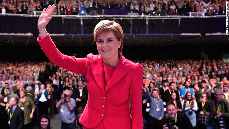 Scotland calls for independence referendum