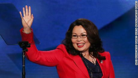 Sen. Tammy Duckworth is expecting