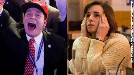 The election night twists and turns in under 2 minutes