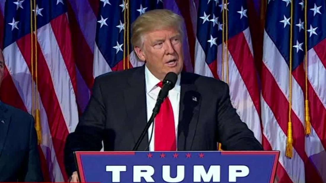 Donald Trump: Hillary Clinton called to congratulate us ...