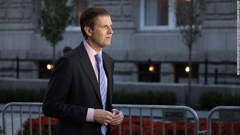 Eric Trump slams Forbes report