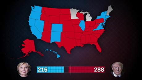 State By State How Trump Won Cnn Video