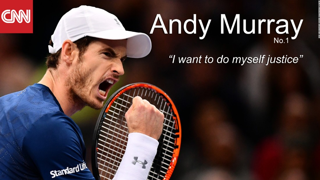 "Murray has the highest win percentage on the tour this year and, having followed in the footsteps of Tim Henman (2003) and Greg Rudedski (1998) with victory at the Paris Masters earlier in November, he's now attempting to become the first Brit in history to win the ATP World Tour Finals. A ""Group of Death"" stands in his way -- with world No.3 Stan Wawrinka having won seven of his 16 matches against Murray in his career. But, in the midst of a 19-match winning streak, Murray won't want to concede the world No.1 spot any time soon. <br /><br />• Titles in 2016: <strong>8 -</strong> Wimbledon, Olympics, Queen's Club, Paris Masters, Rome Masters, China Open, Shanghai Masters, Vienna Open<br />• Aces in 2016: <strong>527</strong><br />• Win percentage in 2016: <strong>89% </strong>-- highest of the eight contenders<br /><br />"
