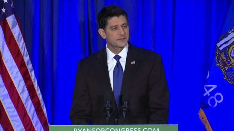 Paul Ryan Donald Trump unified Republican government_00000000