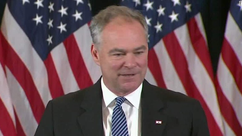 Tim Kaine concession speech Hillary sot ath_00000000