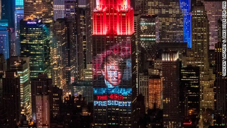 The 2016 Election Night  in New York, NY - Photogaphed by Vincent Laforet & Mike Isler for CNN