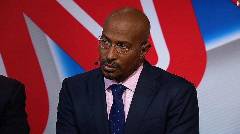 Van Jones snaps at CNN commentator