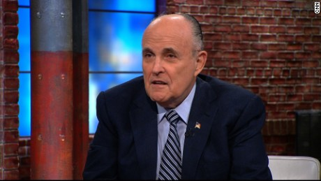Rudy Giuliani Donald Trump Mexico wall newday_00000000