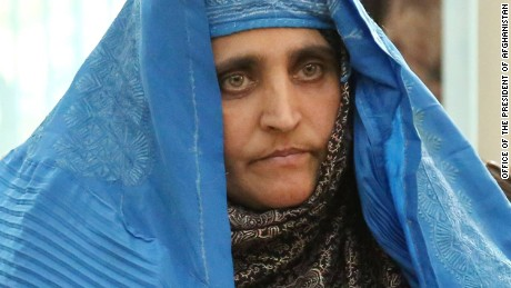 Sharbat Gula was deported after admitting illegally staying in Pakistan