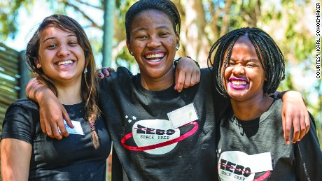 Teenage girls to launch Africa's first private space satellite