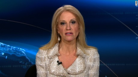 Conway to protesters: Listen to Trump's victory speech