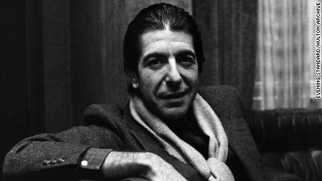 FILE - NOVEMBER 10: Singer-songwriter Leonard Cohen has passed away.  He was 82 years old. 8th January 1980:  Solemn Canadian folk pop singer-songwriter Leonard Cohen shares a joke and smokes a cigarette.  (Photo by Evening Standard/Getty Images)