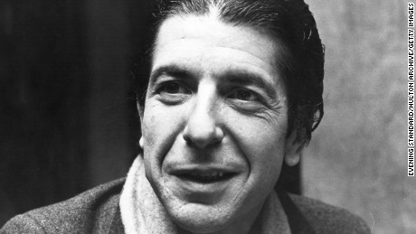 6th December 1979:  Canadian singer-songwriter Leonard Cohen at his hotel during a break in his British Tour, December 1979.  (Photo by Evening Standard/Getty Images)