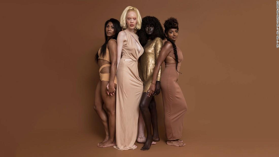 Khoudia Diop: Why the internet loves the 'Melaniin Goddess