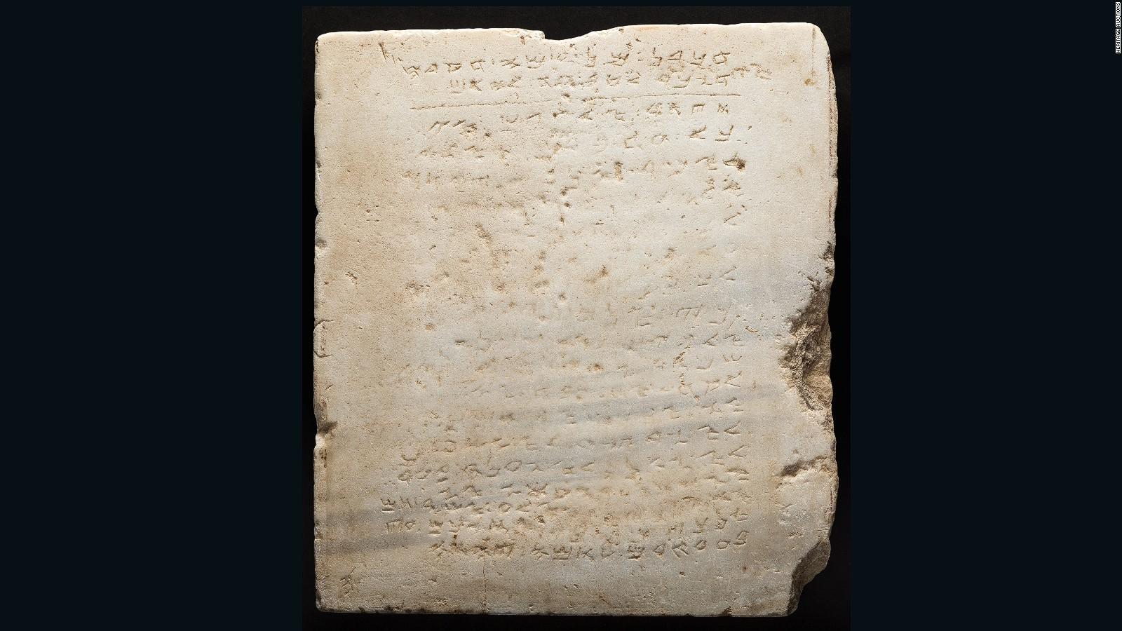 Ancient 10 Commandments Tablet Sold For 850K