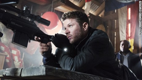 "Ryan Phillippe stars in the USA Network series ""Shooter."""