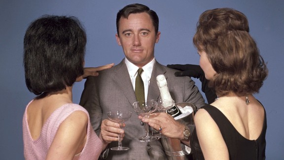 Robert Vaughn, who played a slick spy on TV