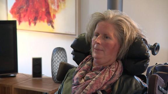Hanneke de Bruijne of the Netherlands was diagnosed with ALS in 2008.