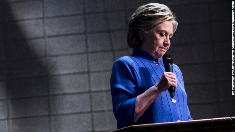 Clinton: FBI letters were too much to overcome