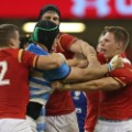 wales rugby scuffle