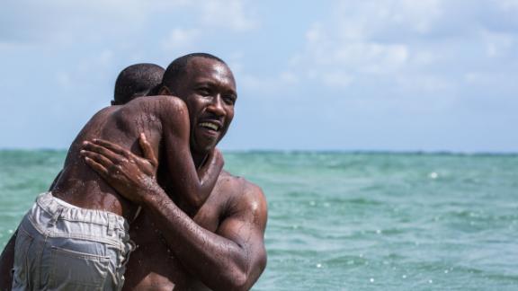 "Mahershala Ali and Alex R. Hibbert star in the acclaimed film ""Moonlight."""