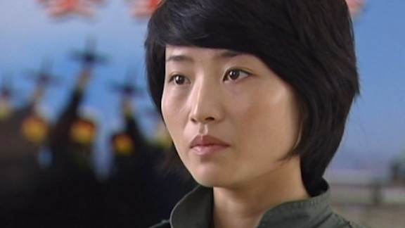 """Capt. Yu Xu described herself as """"a real fighter pilot"""" after she qualified to fly the J-10."""
