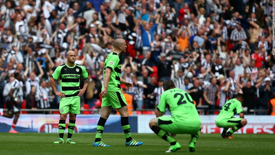 Despite narrowly failing to gain promotion out of the National League last year, Forest Green had more luck this season. A 3-1 play-off victory over Tranmere Rovers ended a 19-year spell playing in the fifth tier of English football. <br />