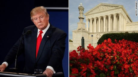 Trump: Same-sex marriage is 'settled,' but Roe v Wade can be changed