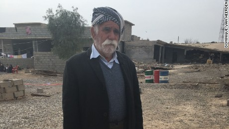 Hamid Merza lost his 40-year-old son to a mine.