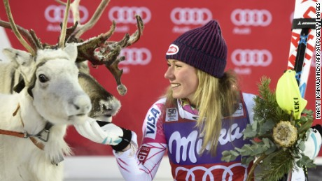 The cutest prize in alpine skiing