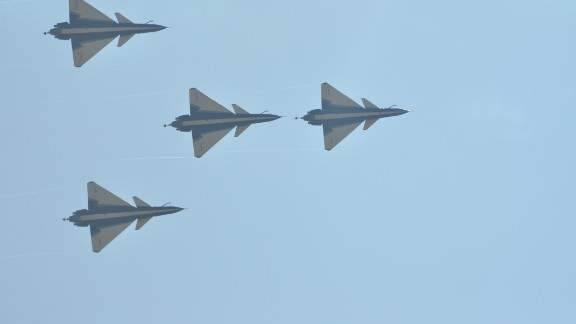 J-10 fighters from China