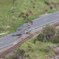 New Zealand Quake road