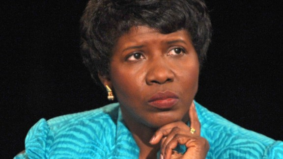 "Gwen Ifill, the veteran journalist and newscaster who co-anchored ""PBS NewsHour,"" died after a battle with endometrial cancer, according to PBS on November 14. She was 61."