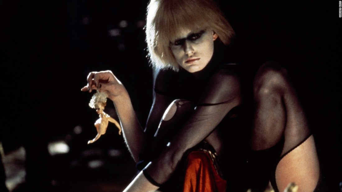 "In the film ""Blade Runner,"" genetically engineered ""replicants"" are used for dangerous work off-planet. They are designed to look like humans, and some of them, seeking lives of their own, go rogue. Pris (Daryl Hannah) is considered a ""basic pleasure model."""