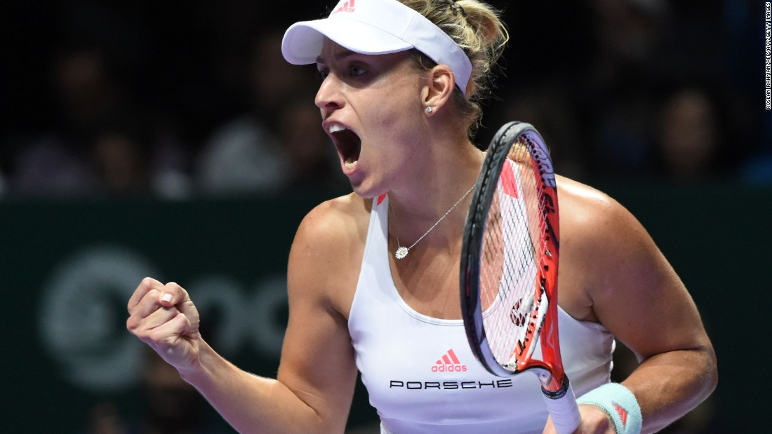 "Kerber replaced Williams as the women's No. 1,<a href=""http://edition.cnn.com/2016/11/29/tennis/tennis-navratilova-evert-kerber-radwanska/""> earning praise from Martina Navratilova and Chris Evert.</a>"
