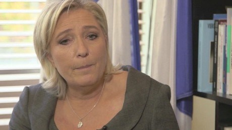 The far-right National Front's Marine Le Pen will likely run in the first round of the presidential election.