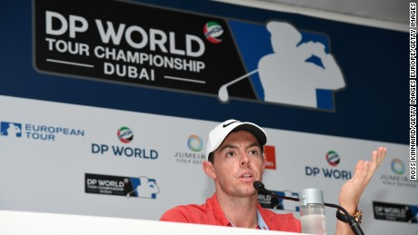 Rory McIlroy has an outside chance of a third straight Race to Dubai title this week.