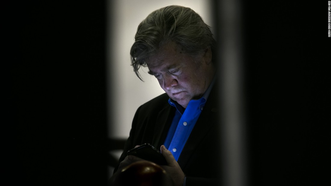 Bannon was the executive chairman of Breitbart News before Trump hired him to run his campaign in August 2016.