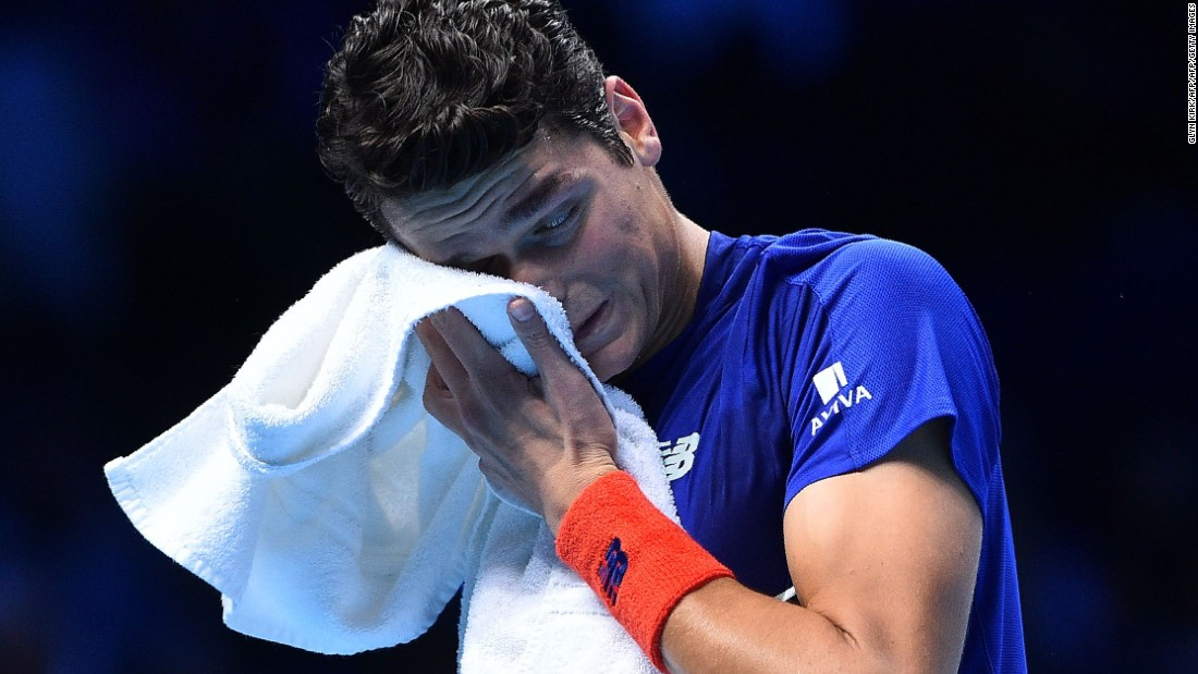 After 64 minutes on court, Raonic had given it everything but it still didn't prove enough. Three break point opportunities had come and gone, and the Djokovic wheel was beginning to turn.