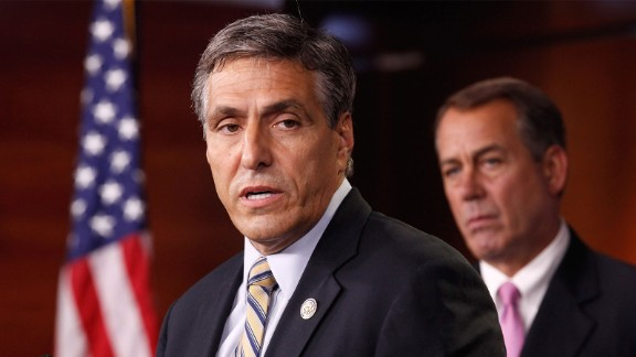 Rep. Lou Barletta appears on Capitol Hill in 2016.