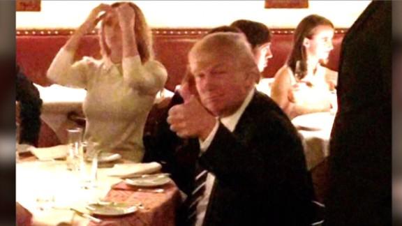 Donald Trump NY dinner