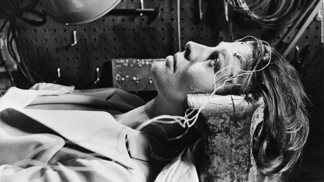 "In the novel and film ""Demon Seed,"" Susan Harris (played by Julie Christie) becomes the target of an artificial intelligence, created by her husband, that wants to impregnate her."