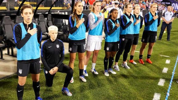 Megan Rapinoe of the US  Women